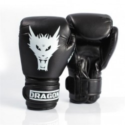 RĘKAWICE BOKSERSKIE  DRAGON BOX STAR 12OZ BLACK