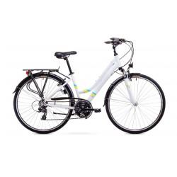 Rower ROMET GAZELA  biały 17 S