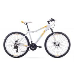 """Rower ROMET JOLENE 26"""" 2 biało-pomarańczowy 19 L"""