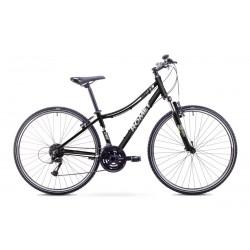 Rower ROMET  ORKAN 2 D czarno-biały 19 L