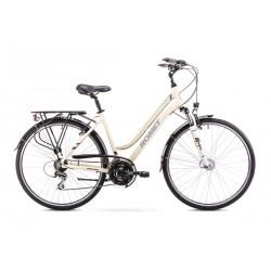 Rower ROMET GAZELA 2 LIMITED beżowo-brązowy 17 S