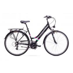 Rower ROMET GAZELA 1  czarny 17 S