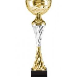 Puchar metalowy złoto-srebrny T-M 8233E