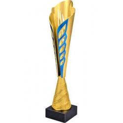 Puchar plastikowy złoto-niebieski 8249C