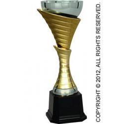 Puchar metalowy złoto-srebrny T-M 4083D