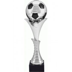 Puchar metalowy srebrno-czarny 4130C
