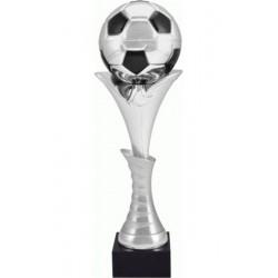 Puchar metalowy srebrno-czarny 4130B
