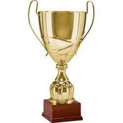 Puchar metalowy złoty T-D 2057B