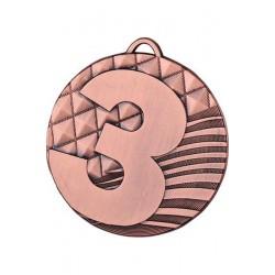 Medal zamak brązowy trzecie miejsce