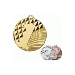 Medal zamak złoty pierwsze miejsce