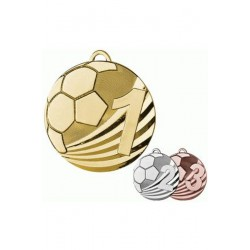 Medal zamak złoty piłka nożna