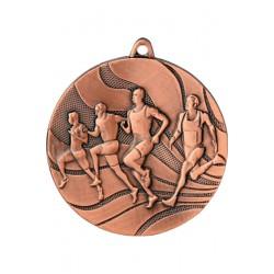Medal brązowy- biegi - medal stalowy