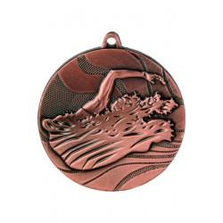 Medal brązowy- pływanie - medal stalowy