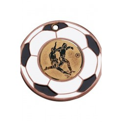 Medal brązowy - piłka nożna - medal stalowy