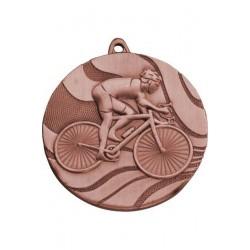 Medal brązowy- kolarstwo - medal stalowy
