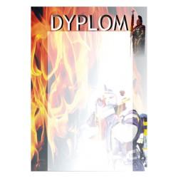 Dyplom papierowy - strażactwo