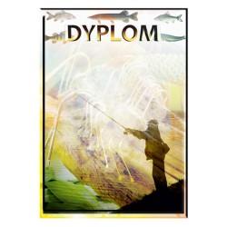 Dyplom papierowy - wędkarstwo (25 szt.) DYP 73