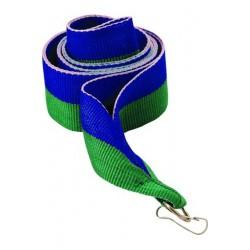 Wstążka 11 mm - niebiesko-zielona