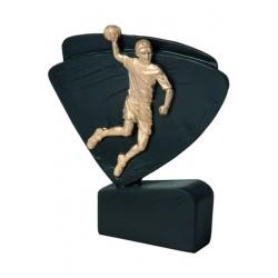 Figurka odlewana - piłka ręczna  RFEL5009/BK/G