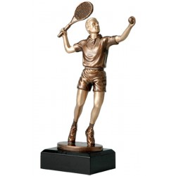 Figurka odlewana - tenis ziemny m.  TPFR2388/BR