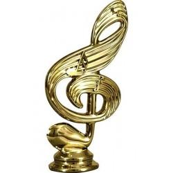 Figurka plastikowa muzyka - nutka  F157/G