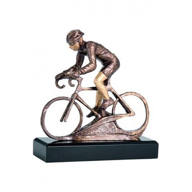 Figurka odlewana - rowerzysta RFST2022/BR