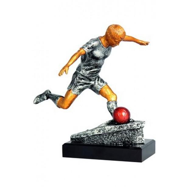 Figurka odlewana -piłka nożna  RFST2054-28/GR