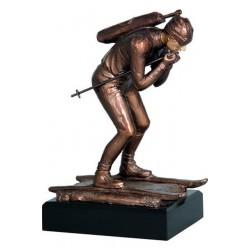 Figurka odlewana - biathlon  RFST2056/BR