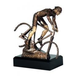 Figurka odlewana - rowerzysta T-M  RTY1332/BR