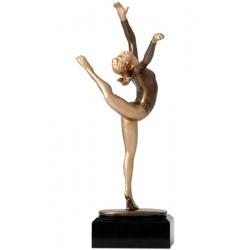 Figurka odlewana - gimnastyka  RXY656/BR