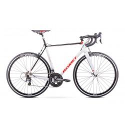 Rower ROMET  HURAGAN CRD czarno-biały 50