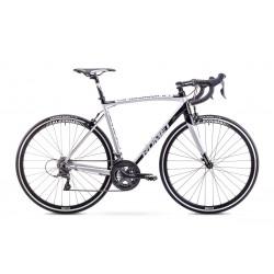 Rower ROMET  HURAGAN 2+  srebrno-czarny 56