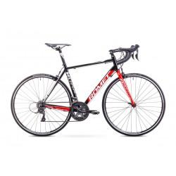 Rower ROMET  HURAGAN 1+   czarno-czerwony 56