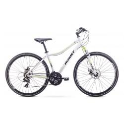 Rower ROMET  ORKAN 1 D biało-seledynowy 19 L