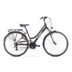 Rower ROMET   GAZELA  czarno-pomarańczowy 17 S