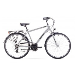 Rower ROMET   WAGANT  czarno-srebrny 19 M