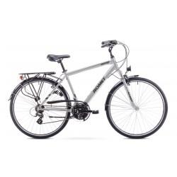 Rower ROMET   WAGANT  szaro-srebrny 19 M