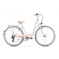 Rower ROMET  SONATA biały 17 M