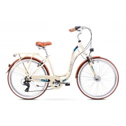 Rower ROMET  SYMFONIA beżowy 19 L