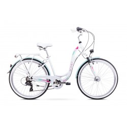 Rower ROMET  SYMFONIA biały 19 L