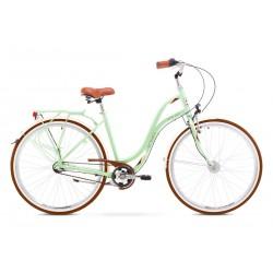 Rower ROMET  POP ART zielony 19 L