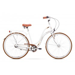 Rower ROMET  POP ART biały 19 L