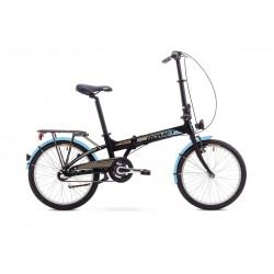Rower ROMET  WIGRY 3 czarno-niebieski 11 M