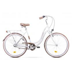 Rower ROMET  ANGEL 3 biały 19 L
