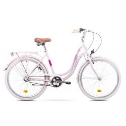 Rower ROMET  ANGEL 3 różowy 19 L