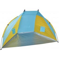 Namiot Osłona Plażowa Sun 200X120X120Cm Niebiesko-Żółta