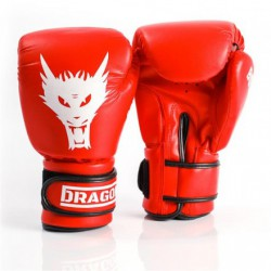 Rękawice Boks. Dragon Box Star 12Oz Red