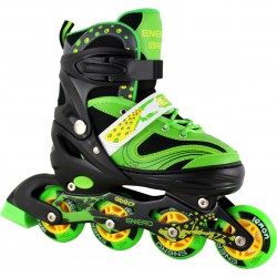 Rolki Wrotki Łyżwy Enero Lemon 3W1 38-41 Green/Yellow/Black