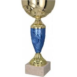 Puchar Metalowy Złoto-Niebieski T-M 9058G