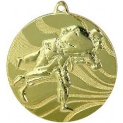 Medal Złoty Zapasy/ Judo D-50 Mm